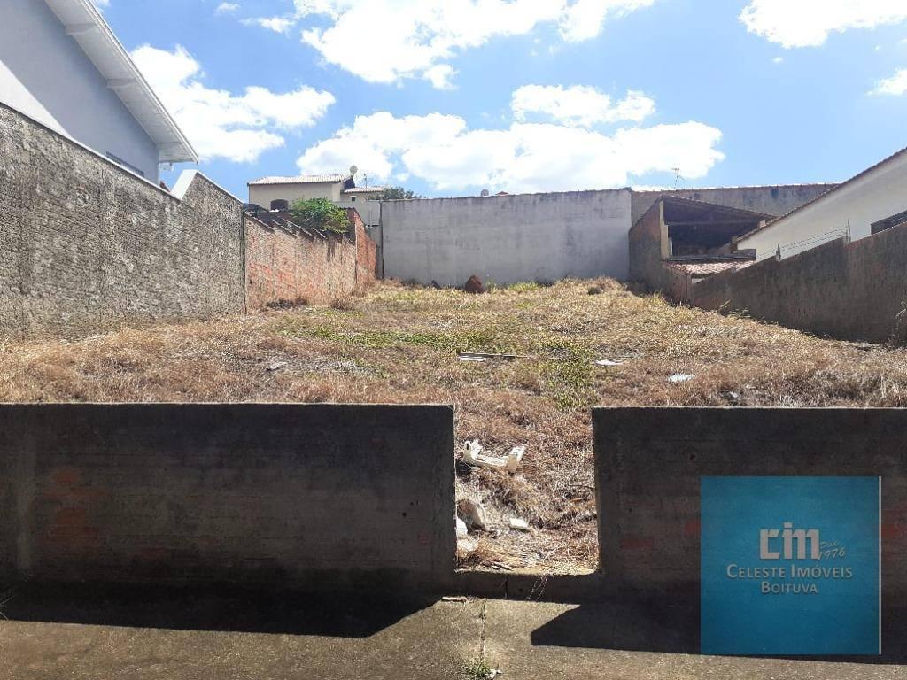 Terreno à venda, 360 m² por R$ 220.000,00 - Jardim Egidio Labronici - Boituva/SP