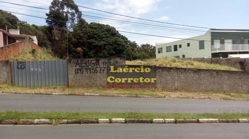 Terreno Industrial em Valinhos 1800m² para locação - R$ 1.200,00
