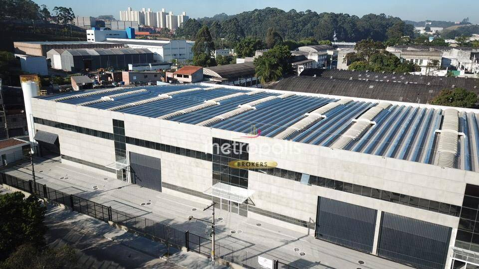 Galpão para alugar, 852 m² por R$ 19.596,23/mês - Jardim Ruyce - Diadema/SP