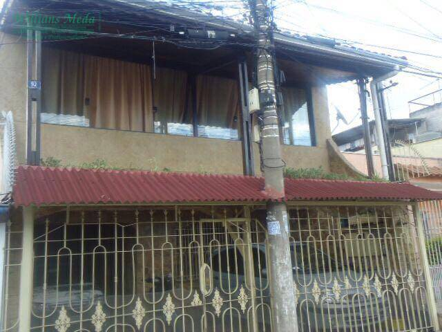 Sobrado  residencial para venda e locação, Jardim Testae, Guarulhos.