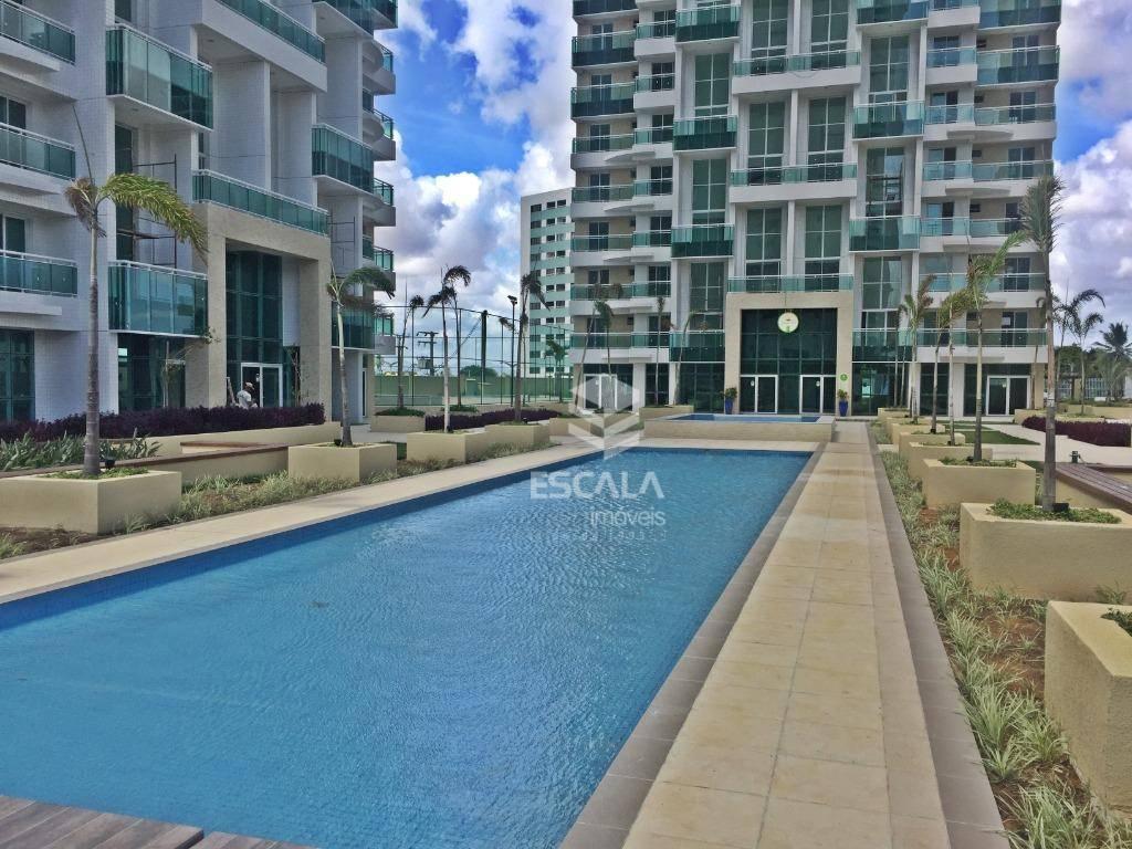 Apartamento com 3 quartos à venda, 82 m², novo, área de lazer, 2 vagas - Guararapes - Fortaleza/CE