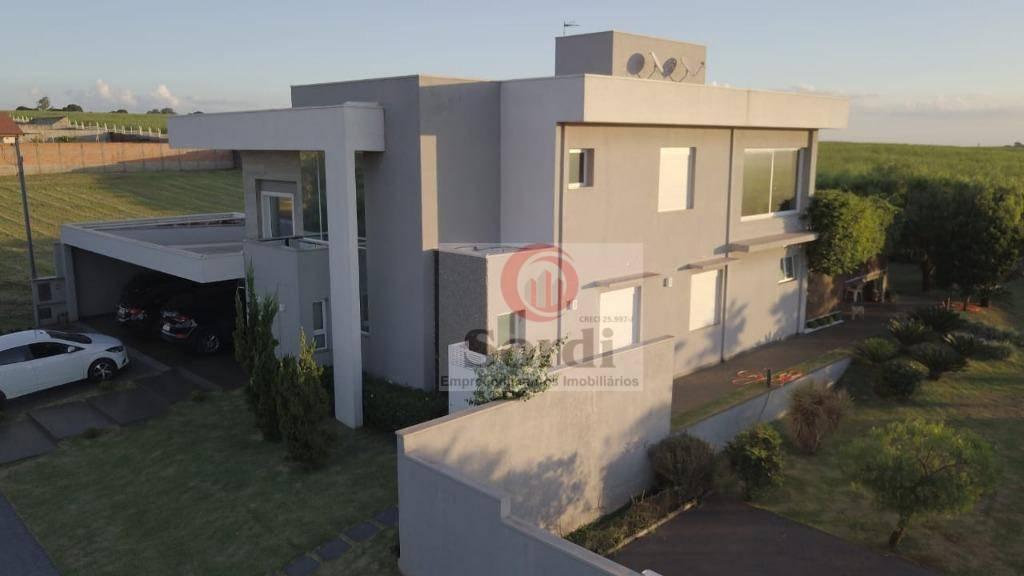 Sobrado com 3 dormitórios à venda, 420 m² por R$ 1.690.000 - Distrito Industrial - Cravinhos/SP