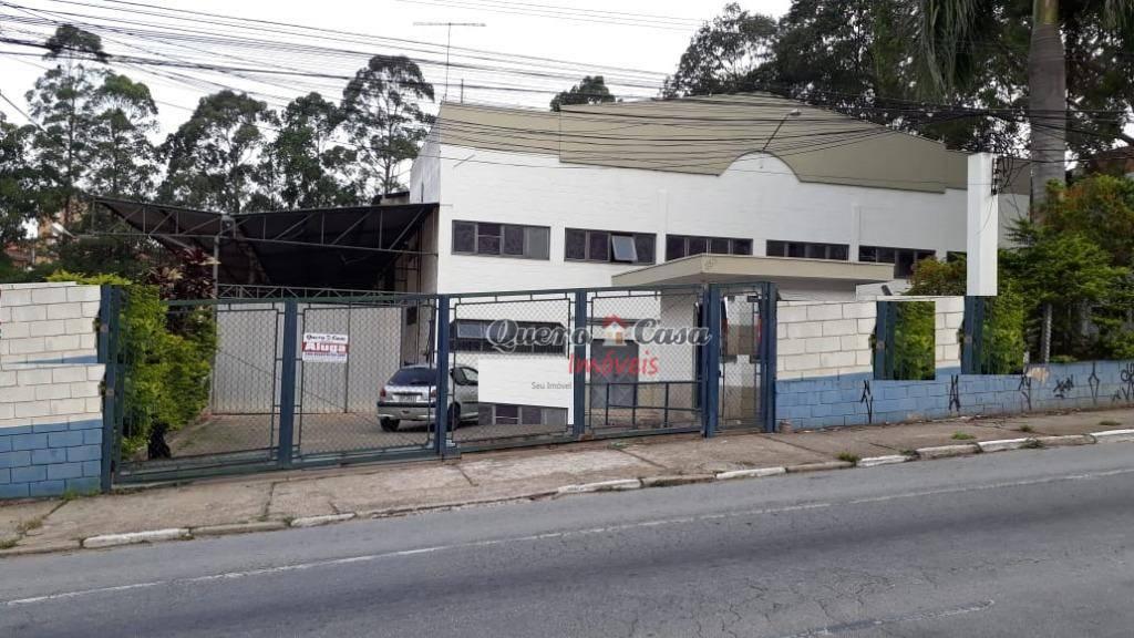 Galpão comercial para locação, Cidade Parque Brasília, Guaru