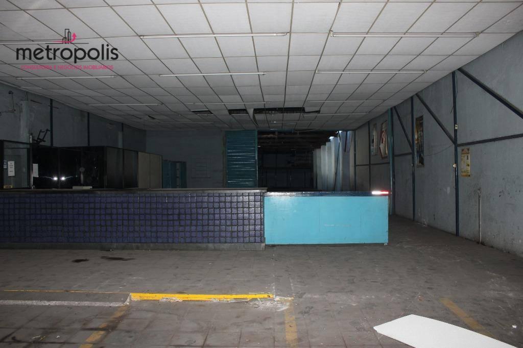 Galpão comercial para venda e locação, Centro, São Caetano do Sul.
