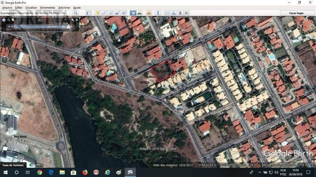Excelente terreno no bairro Dunas