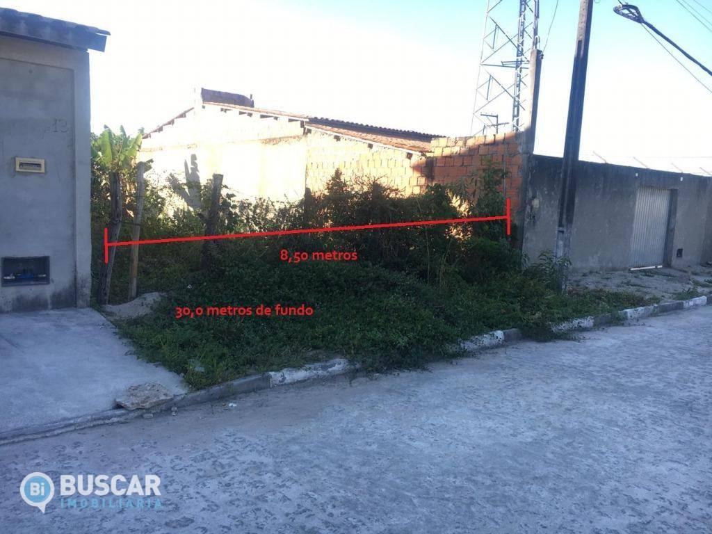 Terreno à venda, 255 m² por R$ 55.000,00 - Conceição - Feira de Santana/BA