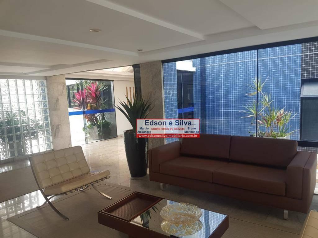 Apartamento com 4 dormitórios à venda, 256 m² por R$ 800.000 - Brisamar - João Pessoa/PB