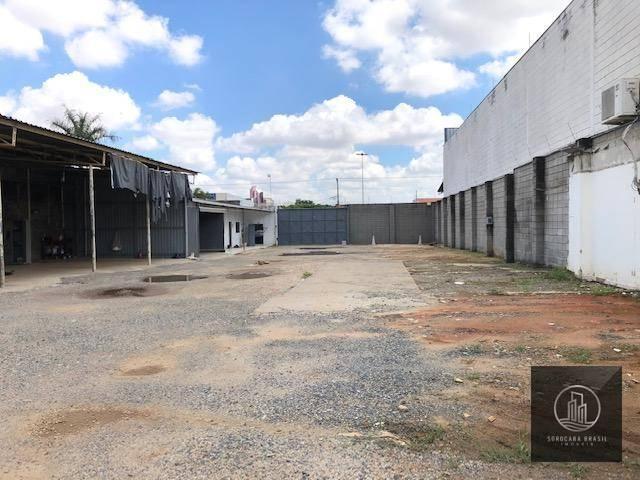 Área para alugar, 3300 m² por R$ 8.000/mês - Além Ponte - Sorocaba/SP