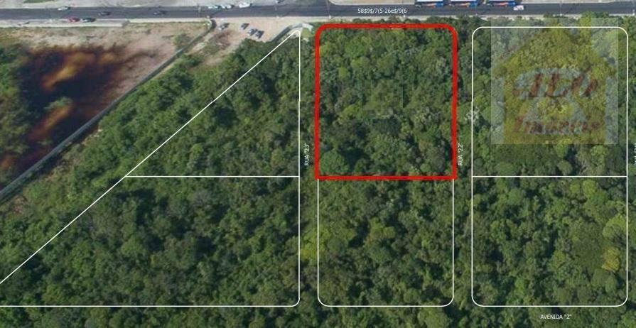 Terreno à venda, 4415 m² por R$ 10.700.000,00 - Vila Mirim - Praia Grande/SP