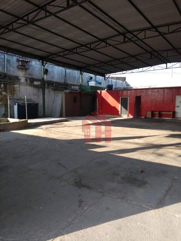 Galpão à venda, 1000 m² por R$ 2.000.000,00 - Estuário - Santos/SP