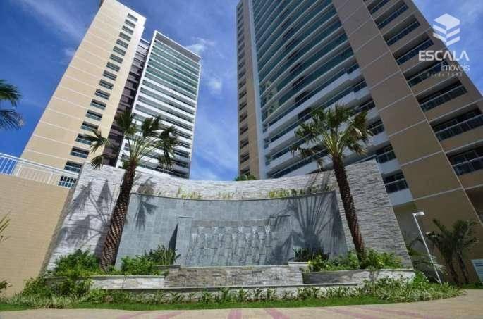 Apartamento com 3 quartos à venda, 138 m², novo, área de lazer, 3 vagas - Guararapes - Fortaleza/CE