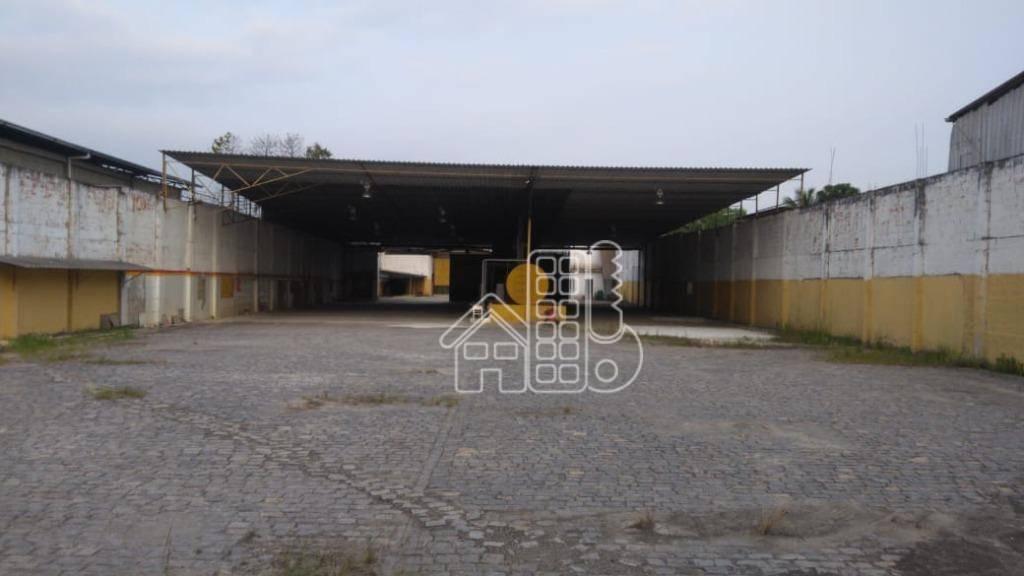 Galpão à venda, 2500 m² por R$ 1.800.000,00 - Santa Cruz - Rio de Janeiro/RJ
