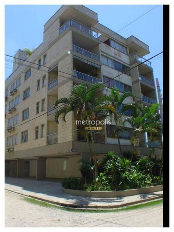 Cobertura com 4 dormitórios à venda, 283 m² por R$ 580.000,00 - Enseada - Guarujá/SP