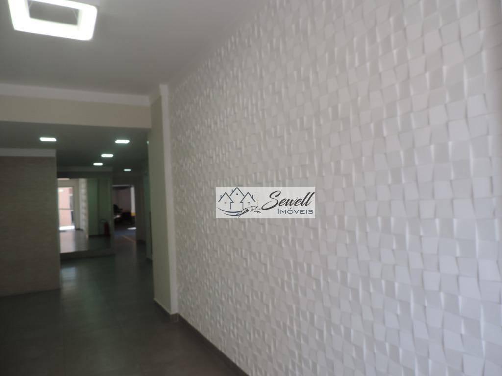 Apartamento com 2 dormitórios para alugar, 54 m² por R$ 1.520/mês - Sacomã - São Paulo/SP