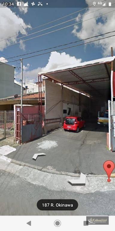 Galpão à venda, 180 m² - Mauá - São Caetano do Sul/SP