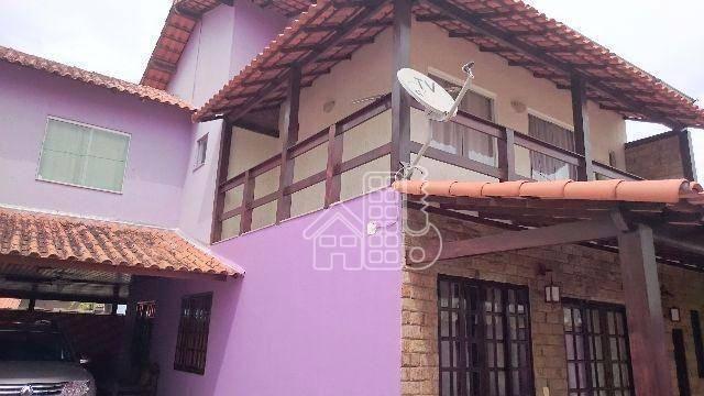 Casa com 4 dormitórios à venda, 201 m² por R$ 410.000,00 - Arsenal - São Gonçalo/RJ