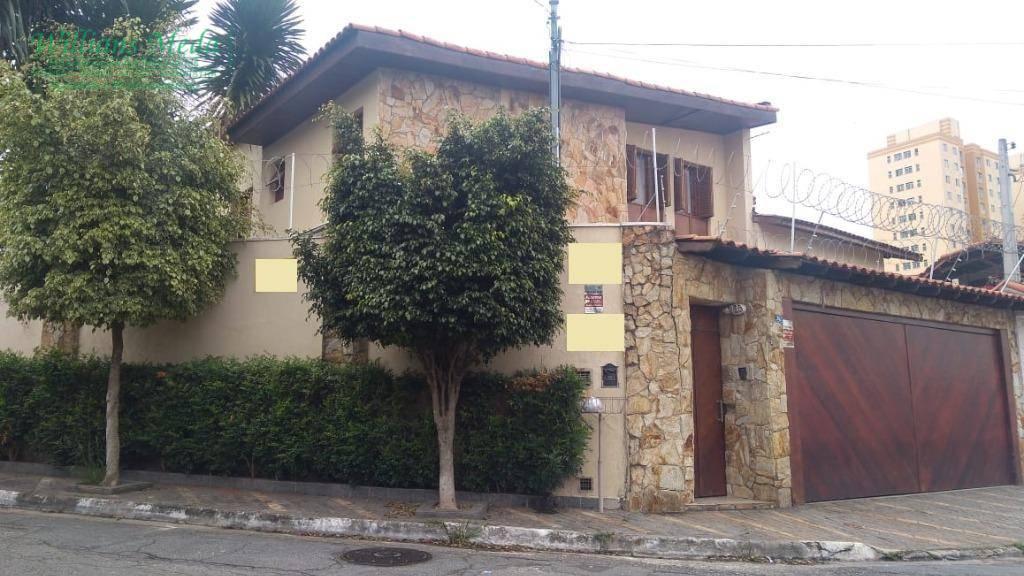 Sobrado residencial à venda, Vila Harmonia, Guarulhos.