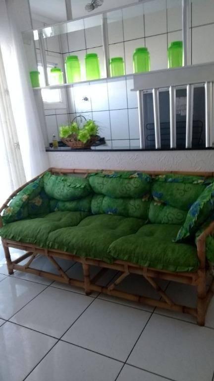 Apartamento residencial à venda, 45 m²,  Bairro Raul Cury, Itanhaém.