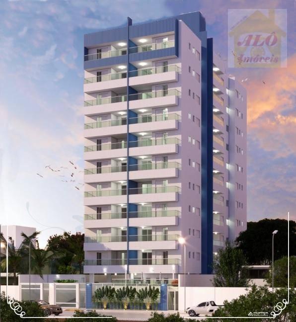 Apartamento à venda, 59 m² por R$ 320.000,00 - Centro - Itanhaém/SP