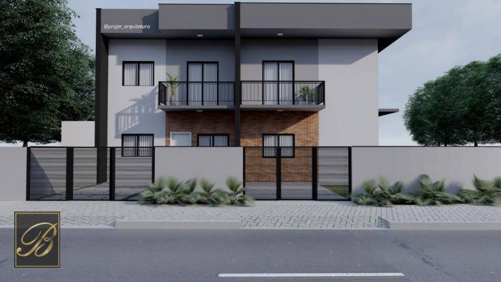 Sobrado com 2 dormitórios à venda, 67 m² por R$ 198. - Aventureiro - Joinville/SC