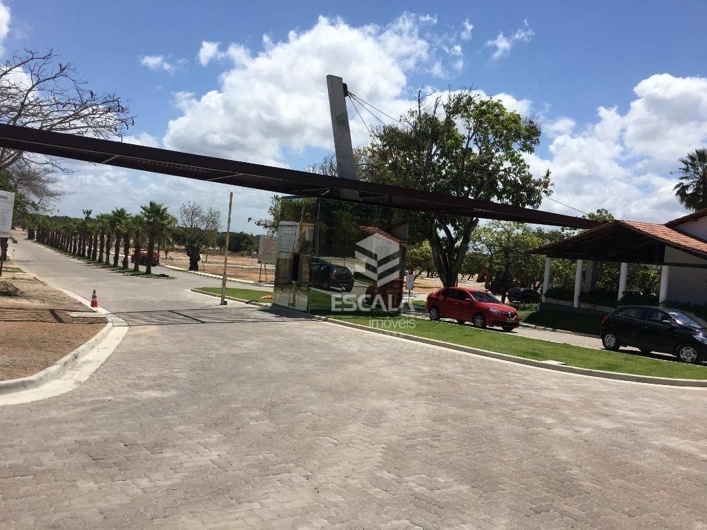 Lote à venda, 315 m², Reserva Terra Brasilis, condomínio fechado, financia - Jacunda - Aquiraz/CE