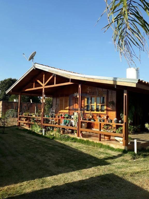 Chácara residencial à venda, Parque Souza Queiroz, Cosmópolis.