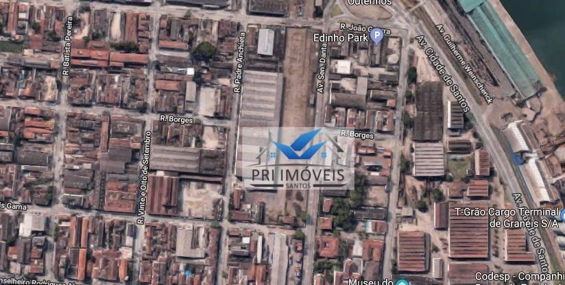 Galpão para alugar, 5500 m² por R$ 77.000/mês - Macuco - Santos/SP