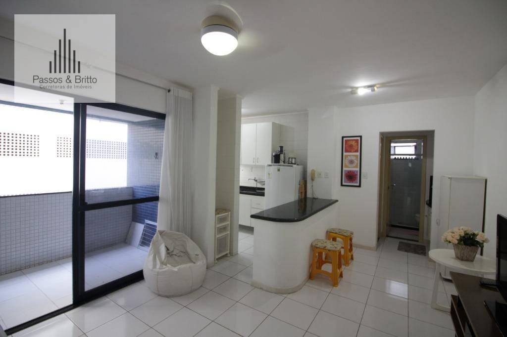 Apartamento com 1 dormitório à venda, 50 m² por R$ 250.000 -
