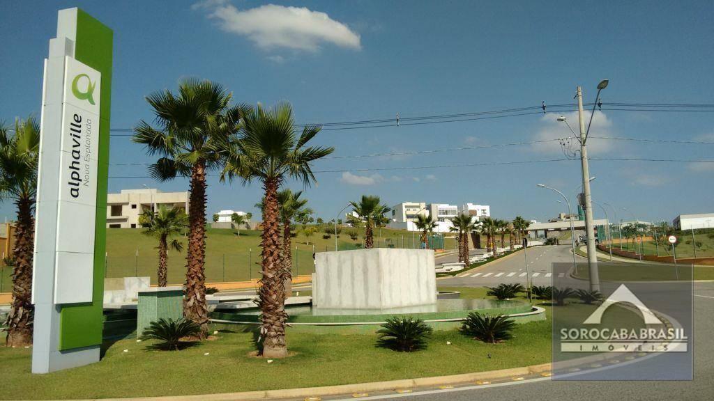 Terreno à venda, 434 m² por R$ 290.000 - Alphaville Nova Esplanada I - Votorantim/SP, próximo ao Shopping Iguatemi.