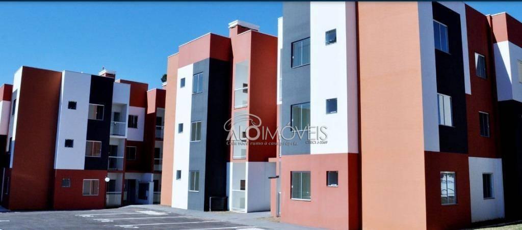 Apartamento com 2 dormitórios à venda, 47 m² por R$ 150.150 - Capela Velha - Araucária/PR
