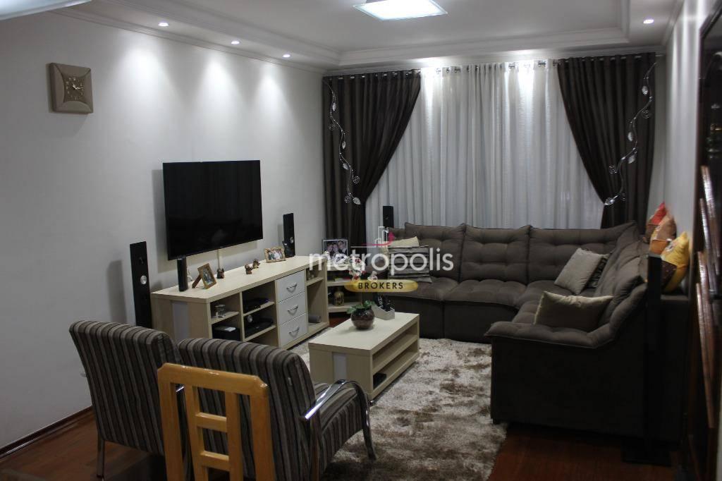Sobrado com 4 dormitórios à venda, 253 m² por R$ 1.200.000,00 - Osvaldo Cruz - São Caetano do Sul/SP