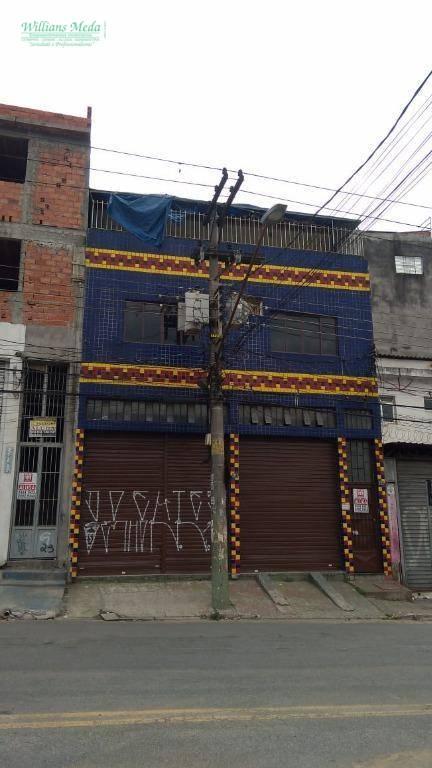 Kitnet residencial para locação, Cocaia, Guarulhos - KN0014.