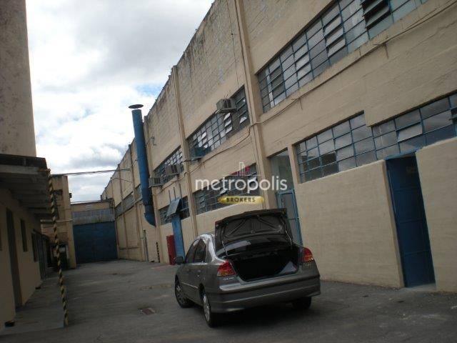Galpão para alugar, 4000 m² por R$ 60.000/mês - Jardim Bom Pastor - Santo André/SP
