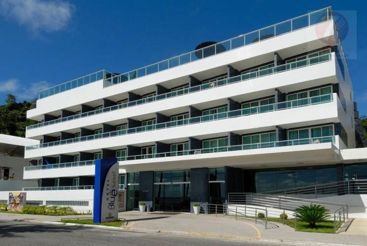 Flat residencial à venda, Cabo Branco, João Pessoa - FL0003.