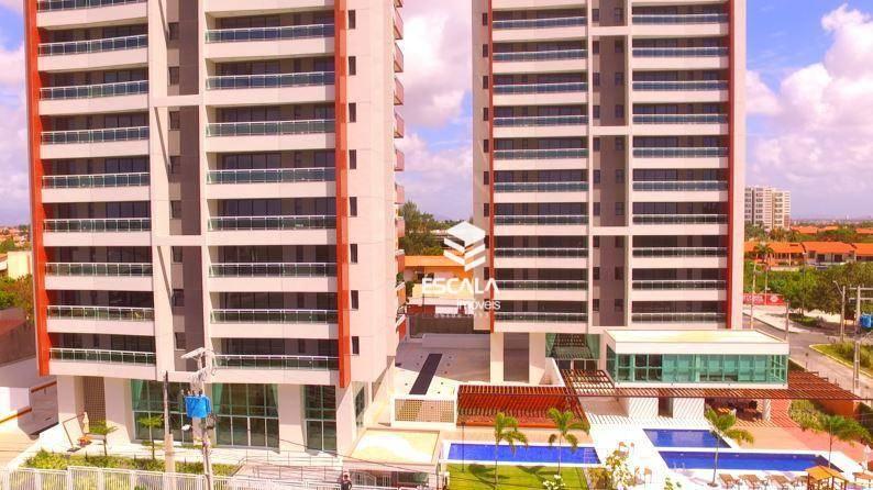 Apartamento com 2 quartos à venda, 70 m², 2 vagas, lazer completo ? Luciano Cavalcante - Fortaleza/CE