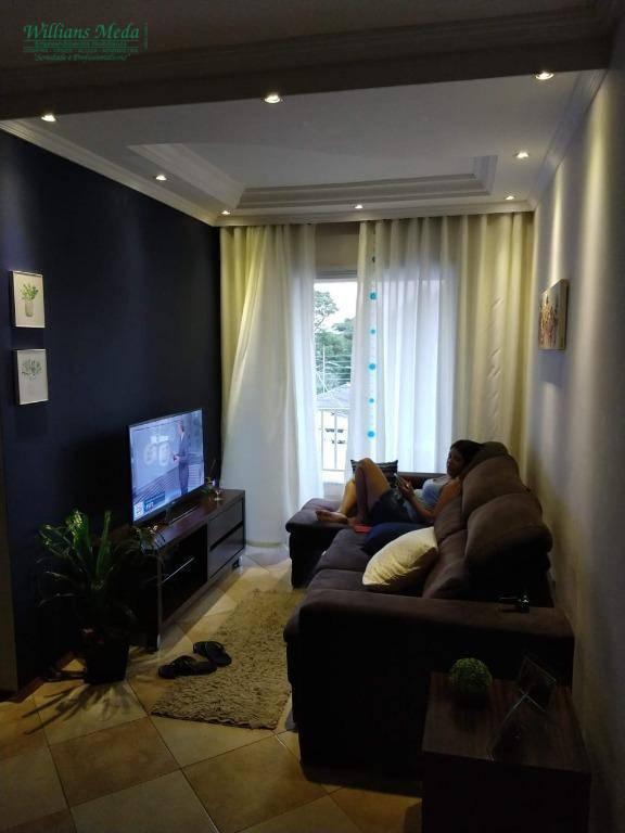 Apartamento com 2 dormitórios à venda, 68 m² por R$ 276.000 - Jardinópolis - Arujá/SP