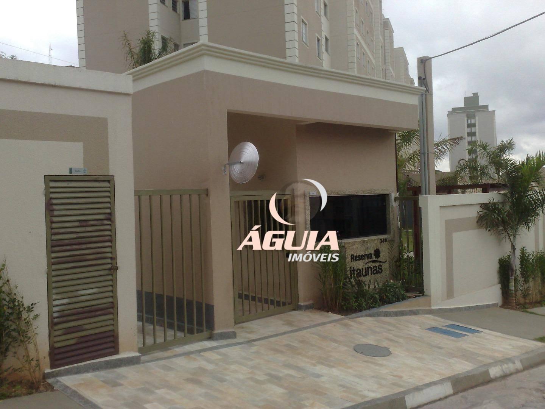 Apartamento com 2 dormitórios à venda, 50 m² por R$ 225.000,00 - Parque São Vicente - Mauá/SP