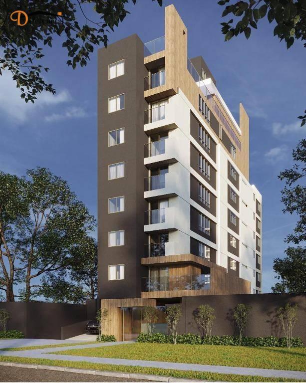 Apartamento com 2 dormitórios à venda, 69 m² por R$ 437.000,00 - Portão - Curitiba/PR