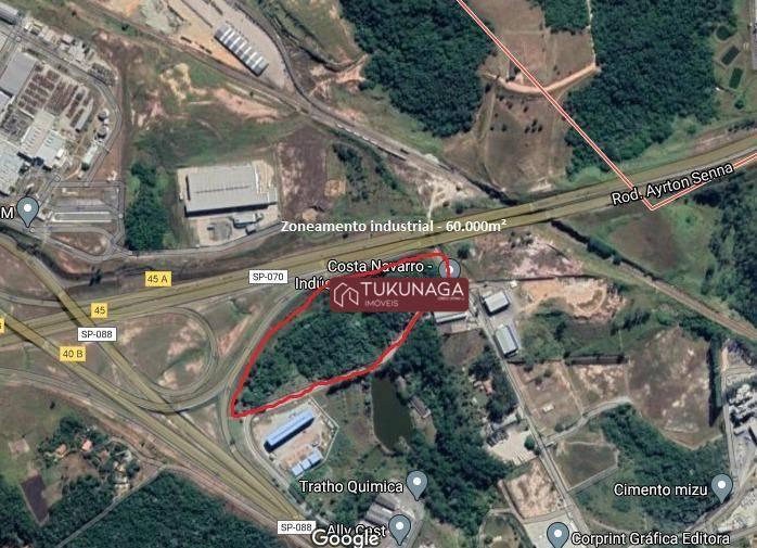 Terreno à venda, 60000 m² por R$ 3.000.000,00 - Taboão - Mogi das Cruzes/SP