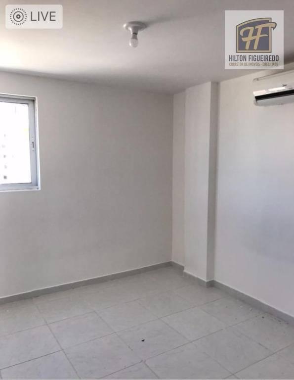 Apartamento para alugar, 59 m² por R$ 850,00/mês - Bessa - João Pessoa/PB