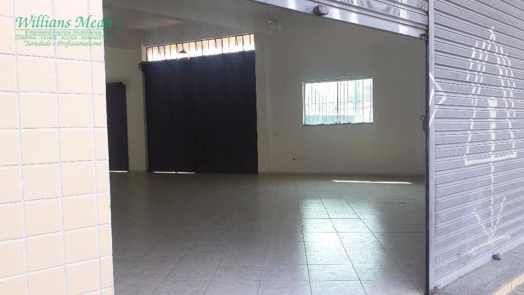 Salão para alugar, 250 m² por R$ 4.000,00/mês - Parque Renato Maia - Guarulhos/SP
