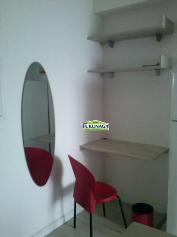 Lindo studio 100% mobiliado Condomínio Insiide, Gopoúva, Guarulhos.