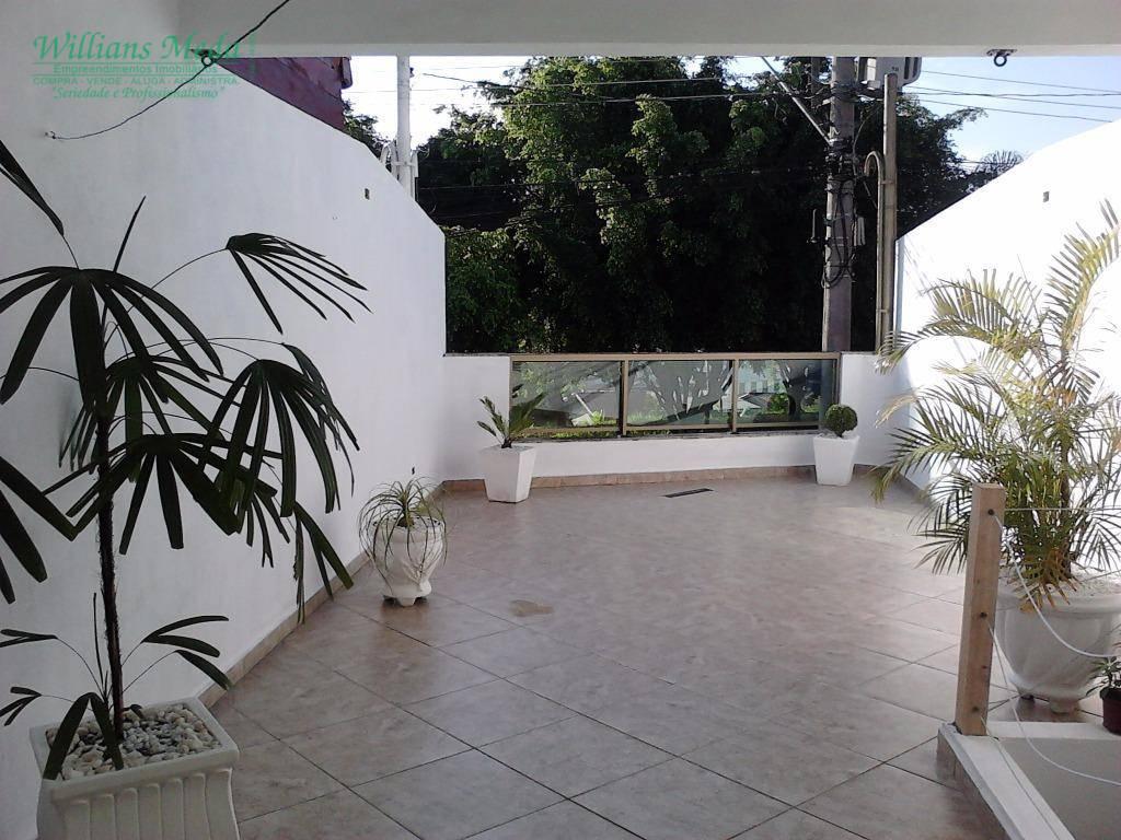 Sobrado com 2 suítes à venda, 88 m² por R$ 400.000 - Jardim Santa Clara - Guarulhos/SP