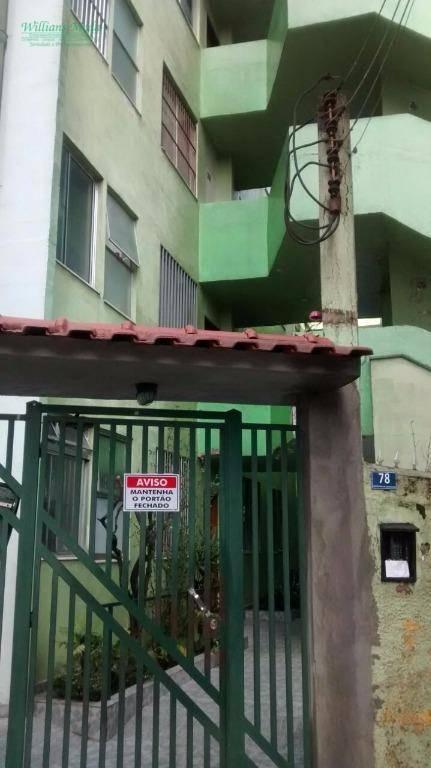 Apartamento  residencial à venda, Vila Barros, Guarulhos.