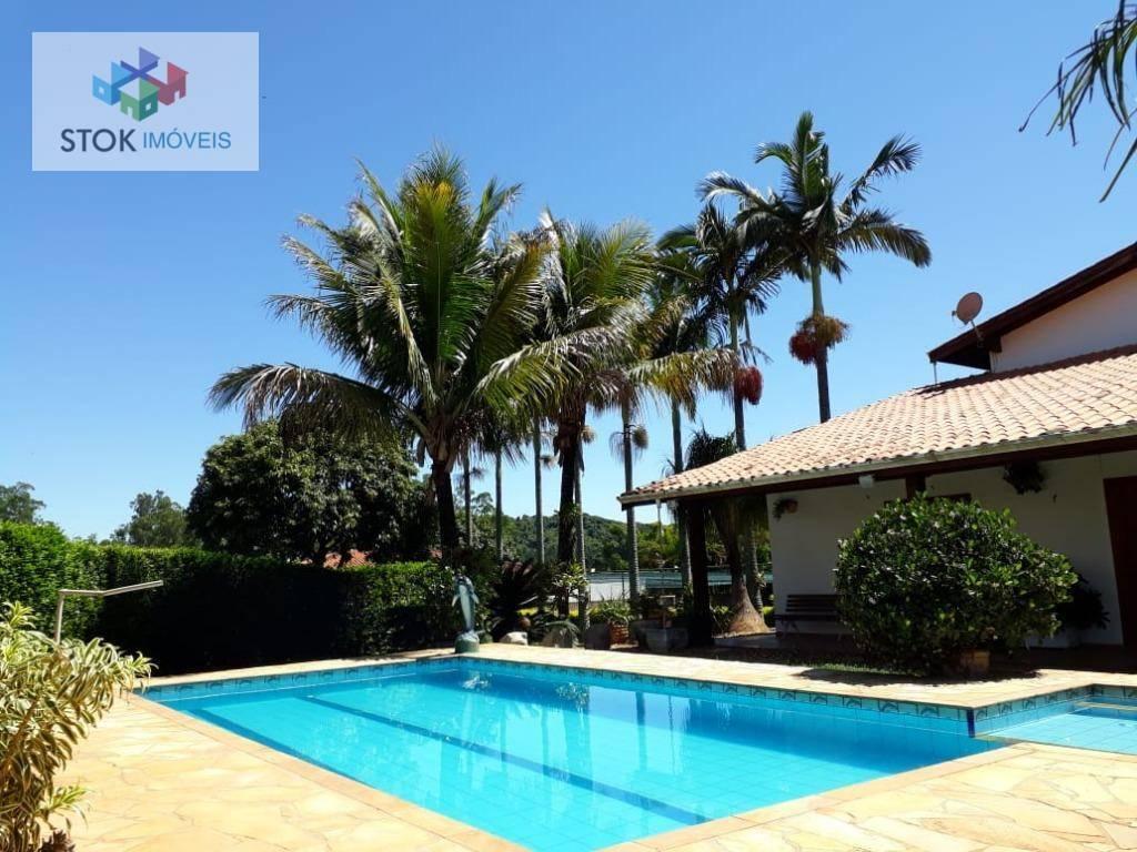 Casa com 4 dormitórios para alugar, 500 m² por R$ 5.000,00/mês - Jardim dos Pinheiros - Atibaia/SP