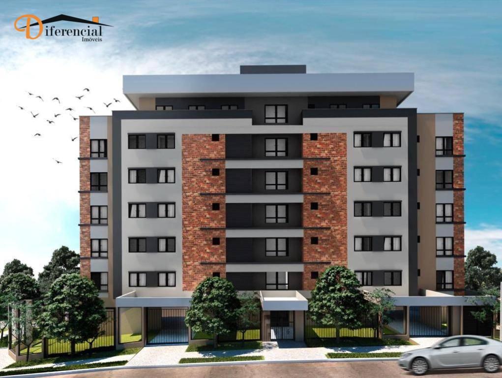 Apartamento à venda, 27 m² por R$ 238.818,12 - Portão - Curitiba/PR