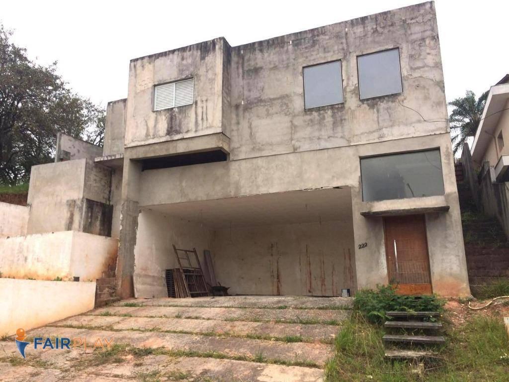Casa a venda semi acabada Condomínio Tarumã em Santana de Parnaíba. Aceita Permuta.