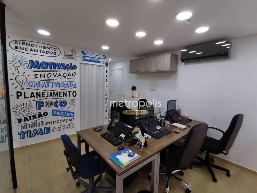 Sala à venda, 37 m² por R$ 330.000,00 - Jardim - Santo André/SP