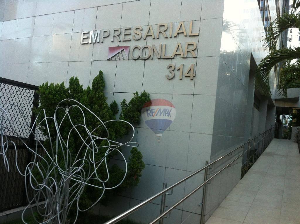 Sala para alugar, 132 m² por R$ 5.650,00/mês - Boa Viagem - Recife/PE