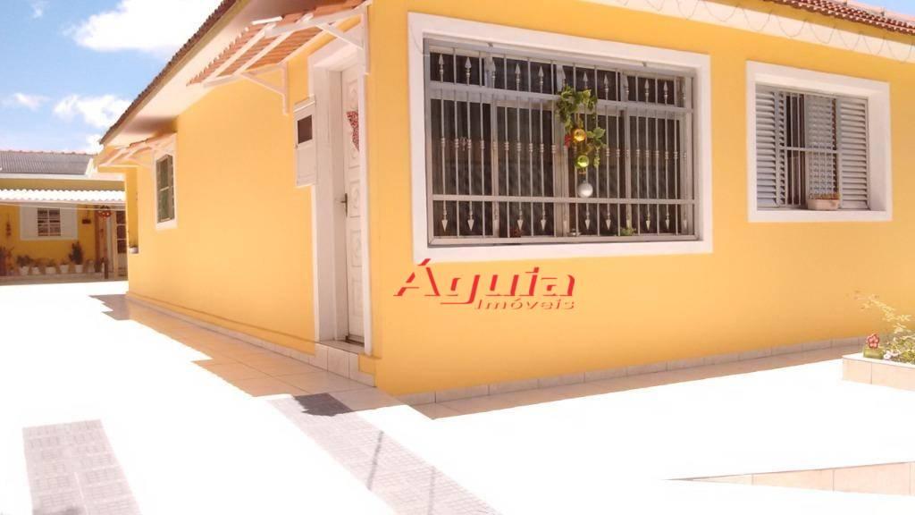 Casa com 2 dormitórios à venda, 196 m² por R$ 840.000 - Parque Novo Oratório - Santo André/SP